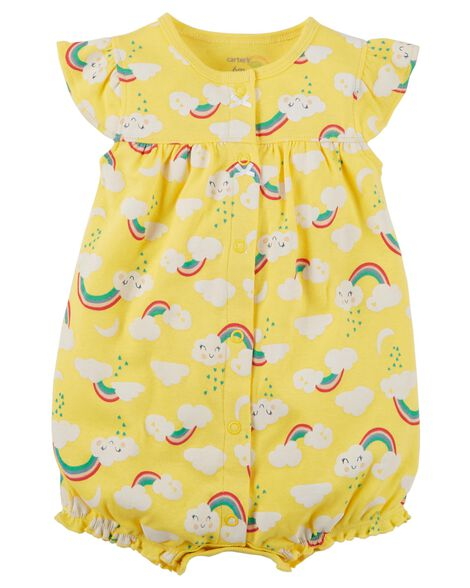 Baby Girl One-Piece Jumpsuits & Bodysuits | Carter's | Free Shipping