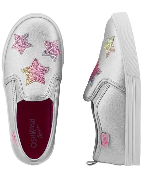 Display product reviews for OshKosh Star Slip-On Shoes