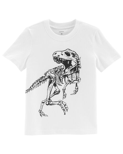 Display product reviews for Dinosaur Skeleton Jersey Tee