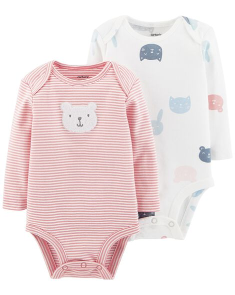 Display product reviews for 2-Pack Bear Bodysuits