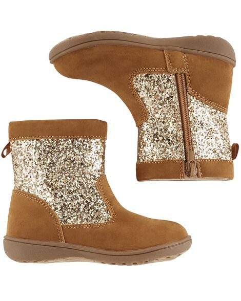 Display product reviews for Carter's Glitter Boots