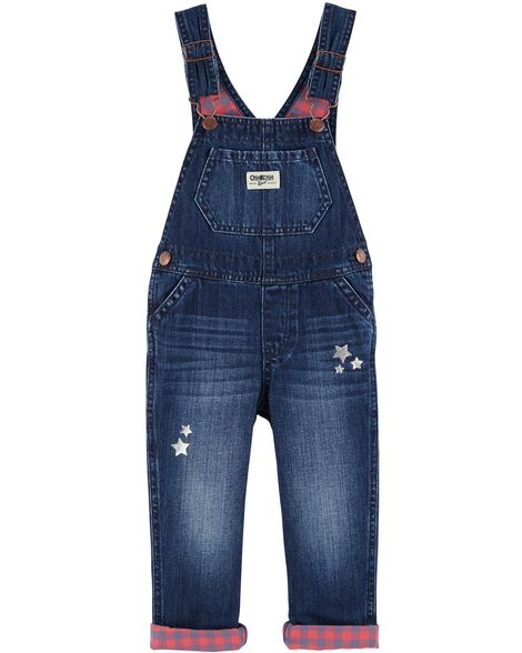 Display product reviews for Stars & Plaid Denim Overalls