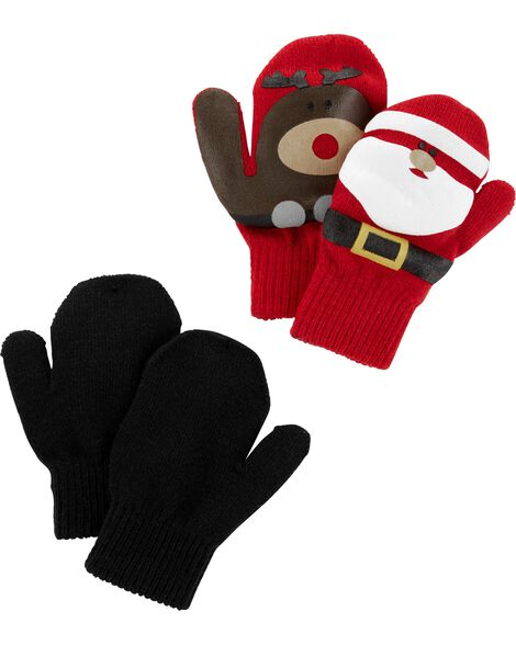 Display product reviews for 2-Pack Christmas Gripper Mittens