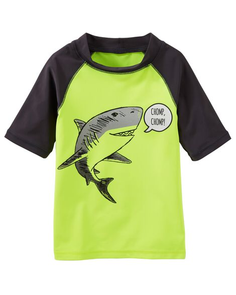 Display product reviews for OshKosh Shark Rashguard