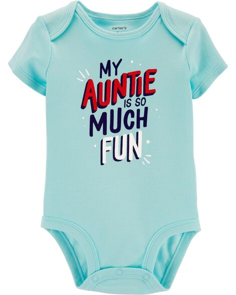 Display product reviews for Fun Auntie Collectible Bodysuit