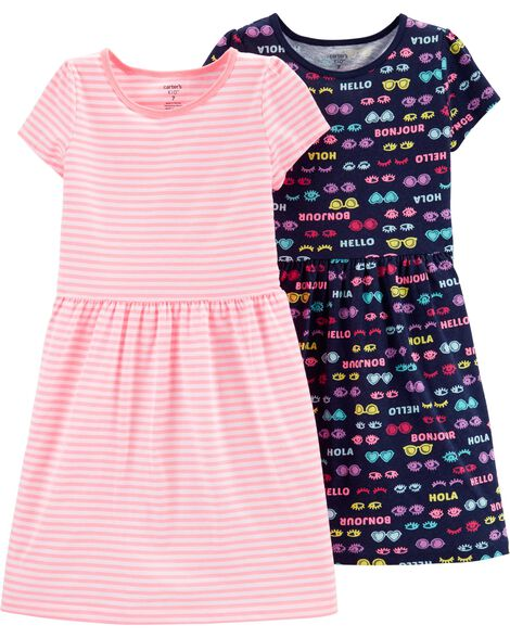 dec58702064 Display product reviews for 2-Pack Jersey Dress Set