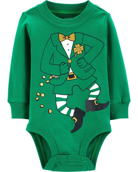 Display product reviews for St. Patrick's Day Leprechaun Costume Bodysuit