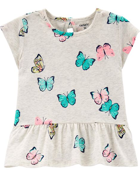Display product reviews for Butterfly Peplum Top