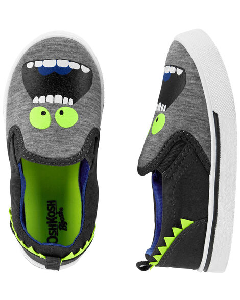 Display product reviews for OshKosh Slip-On Monster Shoes