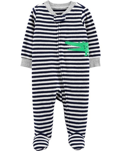 Display product reviews for Alligator Zip-Up Terry Sleep   Play 547fa47b2