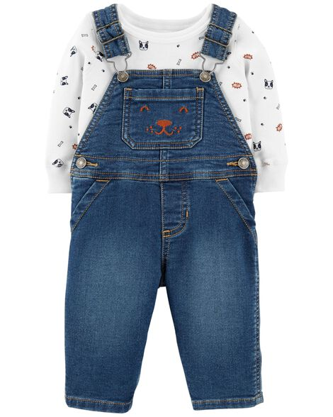 Display product reviews for 2-Piece Overalls Set