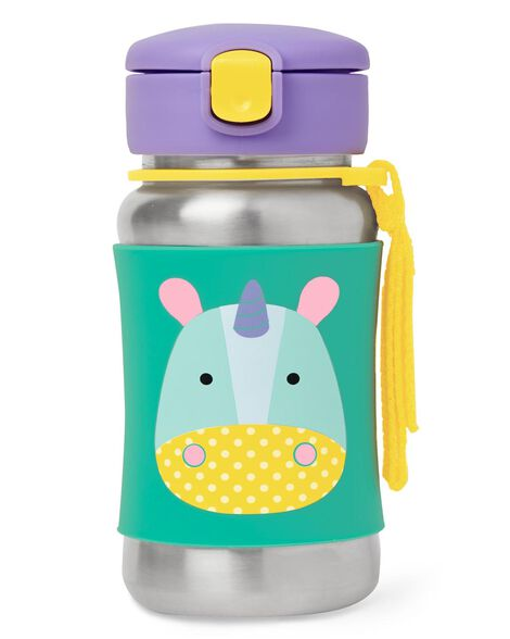 Display product reviews for Zoo Stainless Steel Little Kid Straw Bottle