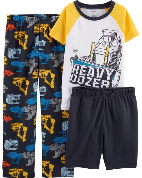 Display product reviews for 3-Piece Construction Poly PJs