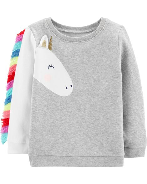 Display product reviews for Unicorn Fleece Sweatshirt