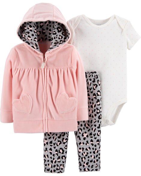 Display product reviews for 3-Piece Little Jacket Set