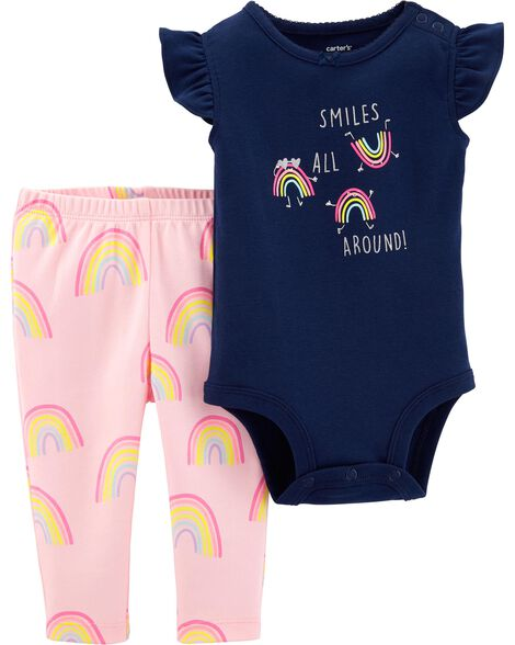 ca3357e50 Display product reviews for 2-Piece Rainbow Bodysuit Pant Set