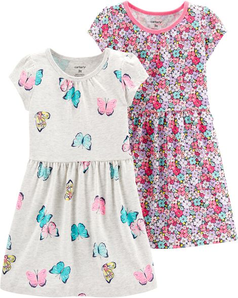 2c034c95e771f Baby Girl Dresses & Rompers | Carter's | Free Shipping