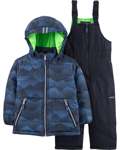 Display product reviews for 2-Piece Mountain Snowsuit Set