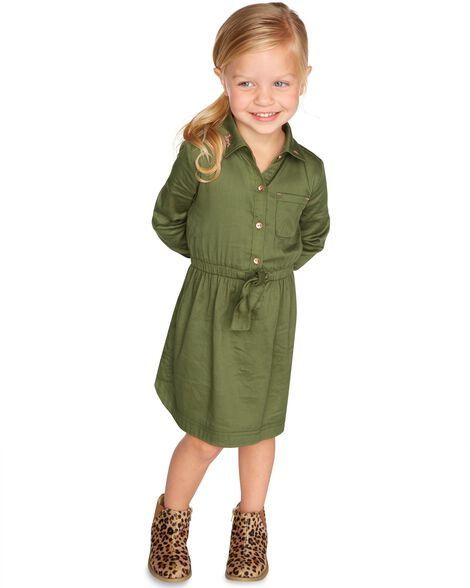 Display product reviews for Embroidered Sateen Dress