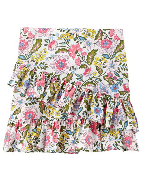 Display product reviews for Floral Ruffle Skort