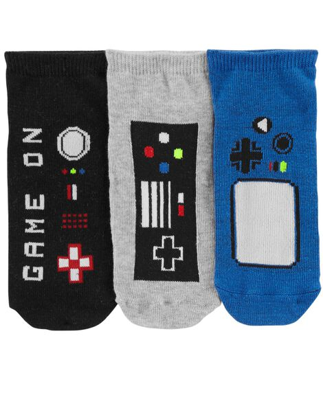 Display product reviews for 3-Pack Gamer Ankle Socks