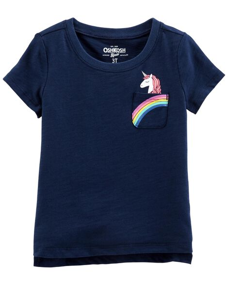 Display product reviews for Unicorn Pocket Tee