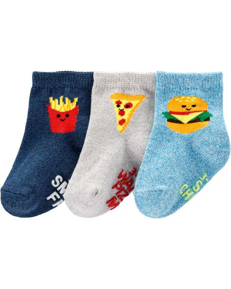 Display product reviews for 3-Pack Food Crew Socks