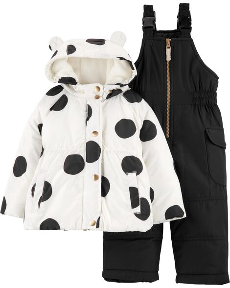 Display product reviews for 2-Piece Polka Dot Snowsuit Set