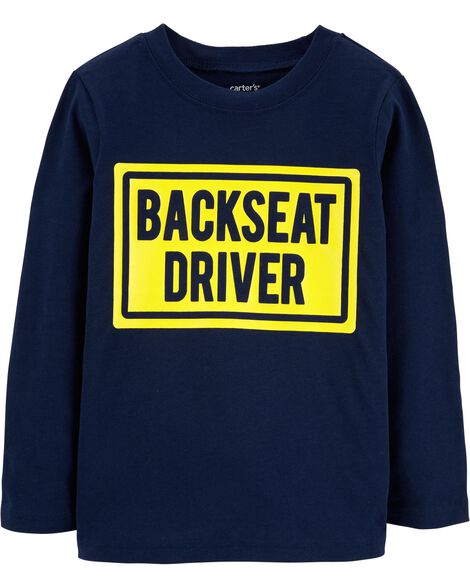 Display product reviews for Backseat Driver Jersey Tee