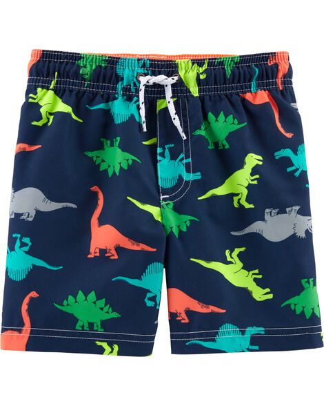 Display product reviews for Carter's Dinosaur Print Swim Trunks