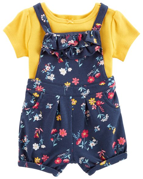 Display product reviews for 2-Piece Tee & Shortalls Set