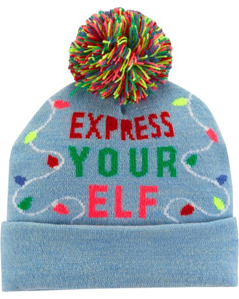 Display product reviews for Express Your Elf Beanie