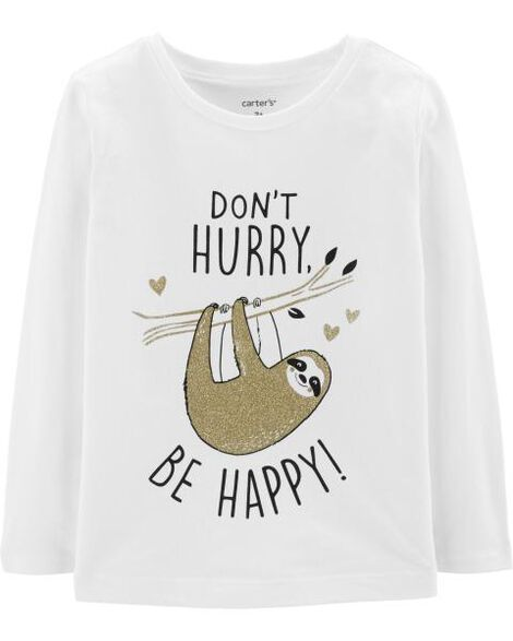 Display product reviews for Be Happy Sloth Tee