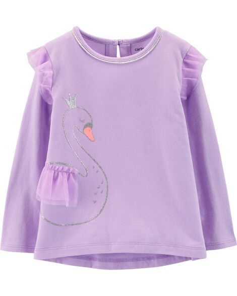 Display product reviews for Glitter Swan Hi-Lo Flutter Tee da25e213b1d0