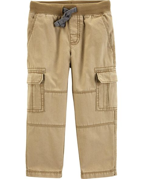 Display product reviews for Easy Pull-On Denim Pants