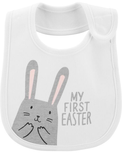 Display product reviews for My First Easter Teething Bib