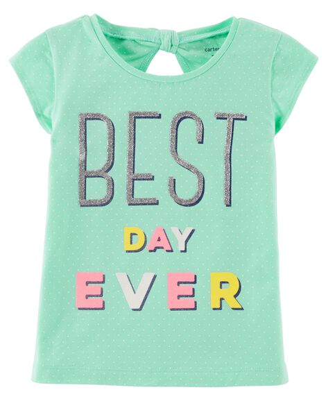 Display Product Reviews For Best Day Ever Jersey Tee