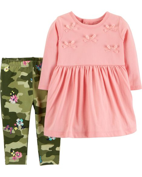 Display product reviews for 2-Piece Dress & Legging Set