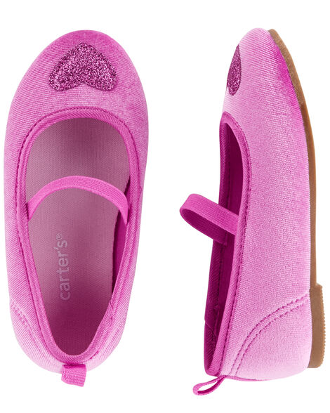 Display product reviews for Carter's Heart Ballet Flats