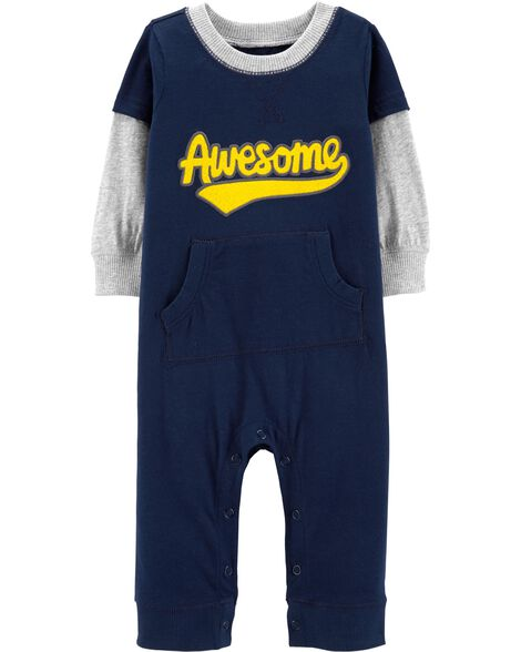 3f8cbd9cde4e Baby Boy One-Piece Jumpsuits & Bodysuits | Carter's | Free Shipping
