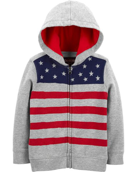 1d33e3c0e Display product reviews for French Terry Flag Hoodie