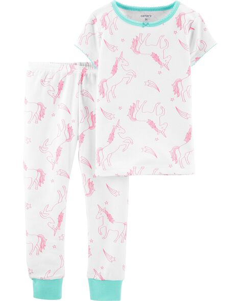 131a111636 Display product reviews for 2-Piece Unicorn Snug Fit Cotton PJs