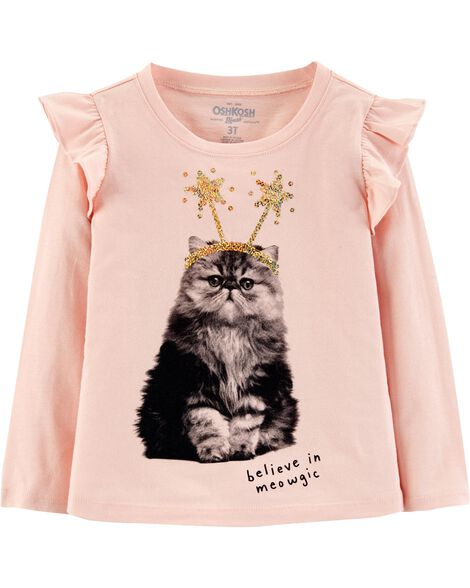 Display product reviews for Ruffle Cat Top