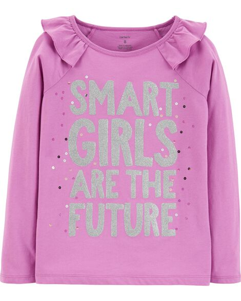 Display product reviews for Smart Girls Are The Future Tee