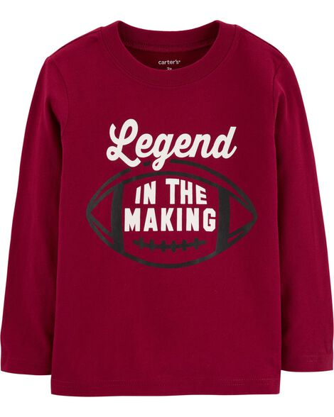 Display product reviews for Football Legend Jersey Tee