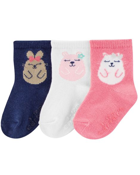 Display product reviews for 3-Pack Animal Crew Socks