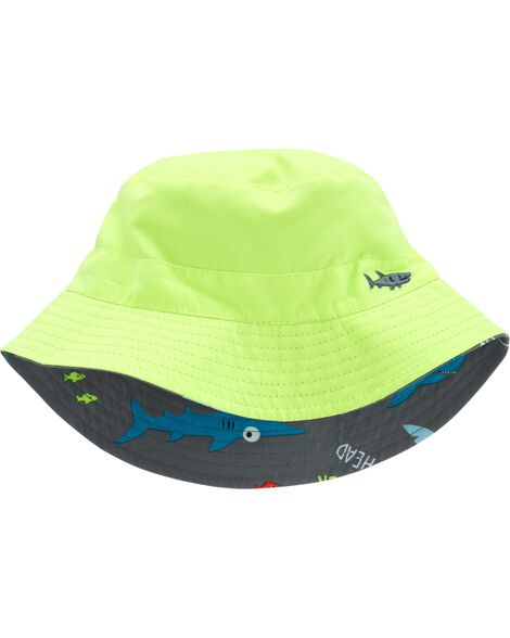 Display product reviews for Reversible Shark Bucket Hat