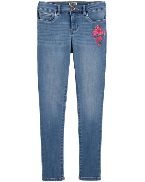 Display product reviews for Stretch Floral Jeans