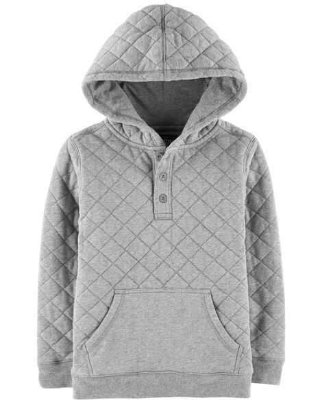 Display product reviews for Quilted Hoodie