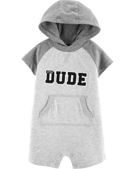 Display product reviews for Hooded Little Dude Romper
